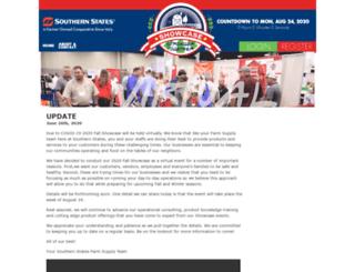 southernstatesshowcase.com screenshot