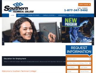 southerntech.wpengine.com screenshot