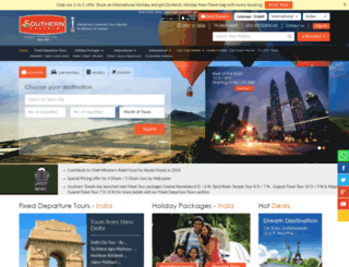 southerntravels.com screenshot
