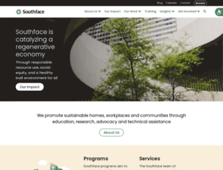 southface.org screenshot