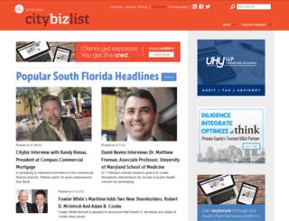 southflorida.citybizlist.com screenshot