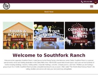southfork.com screenshot