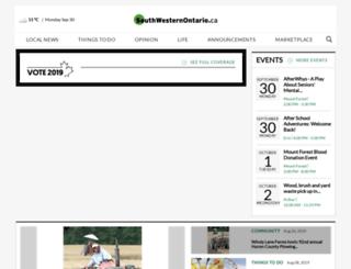 southhuron.com screenshot