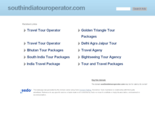 southindiatouroperator.com screenshot
