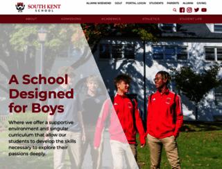 southkentschool.org screenshot