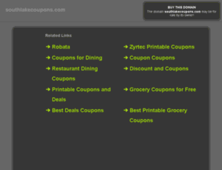 southlakecoupons.com screenshot