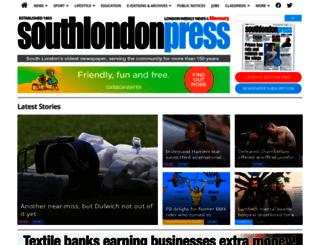 southlondonpress.co.uk screenshot