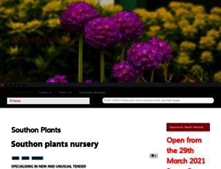 southon-plants.co.uk screenshot