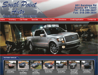 southpointauto.net screenshot