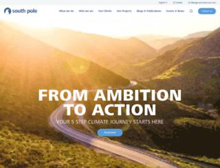 southpolecarbon.com screenshot