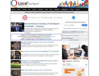 southport.qlocal.co.uk screenshot