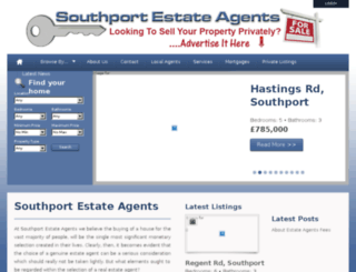 southportestateagents.com screenshot