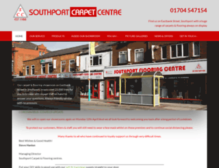 southportflooring.co.uk screenshot