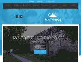 southridgebyu.prospectportal.com screenshot
