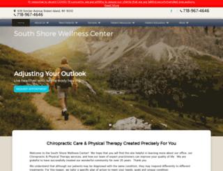 southshorewellness.com screenshot