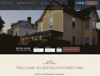 southstreetinn.com screenshot