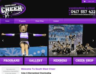 southwestcheergym.com.au screenshot