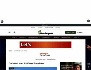 southwestfarmpress.com screenshot