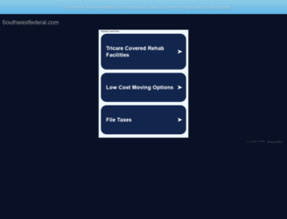 southwestfederal.com screenshot