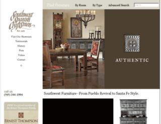 southwestspanishcraftsmen.com screenshot
