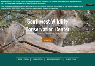 southwestwildlifeorg.presencehost.net screenshot