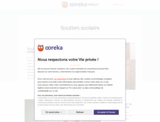 soutien-scolaire.comprendrechoisir.com screenshot
