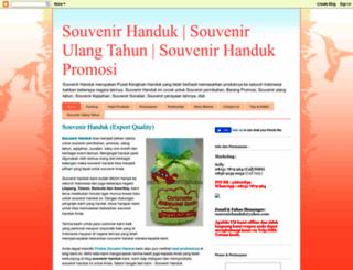 souvenir-handuk.blogspot.com screenshot