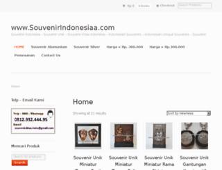 souvenirindonesiaa.com screenshot
