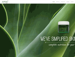 sovajskincare.com screenshot