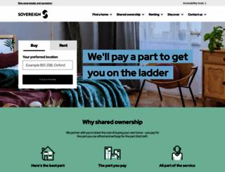 sovereignliving.org.uk screenshot