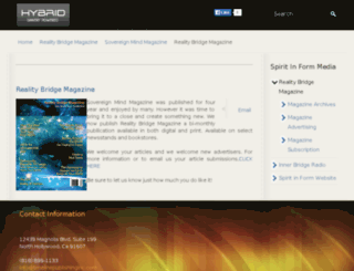 sovereignmindmagazine.com screenshot