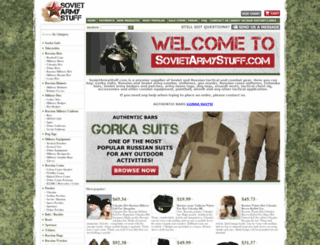 sovietarmystuff.com screenshot