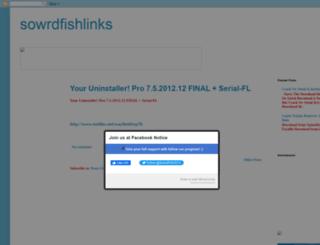 sowrdfishlinks.blogspot.in screenshot