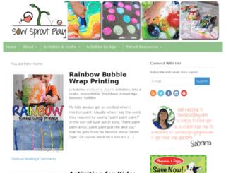 sowsproutplay.com screenshot