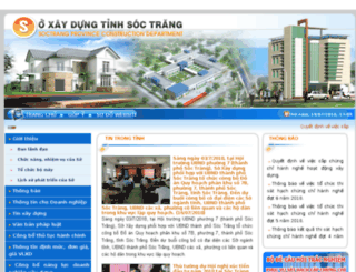 soxaydung.soctrang.gov.vn screenshot