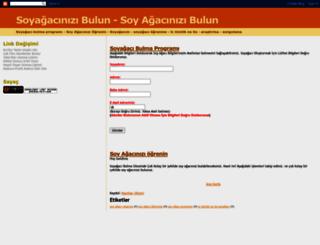 soyagacibulma.blogspot.com.tr screenshot