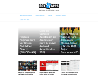 soyapps.com screenshot