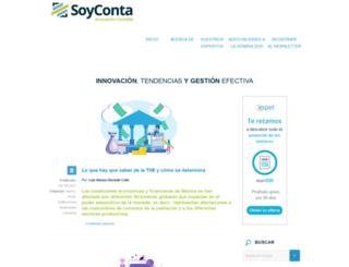soyconta.mx screenshot