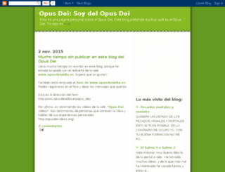 soydelopusdei.blogspot.com screenshot