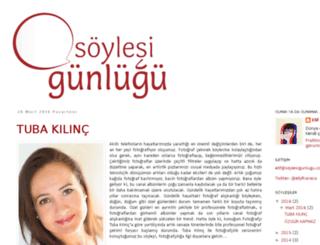 soylesigunlugu.blogspot.com screenshot