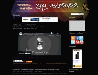 soypelopo82.blogspot.mx screenshot