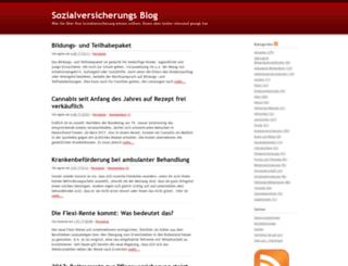 sozialblog.com screenshot