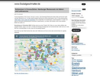 sozialgeschnatter.wordpress.com screenshot