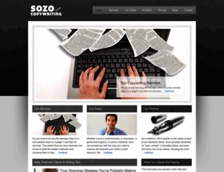 sozocopywriting.com screenshot