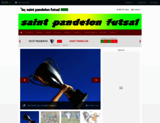sp-futsal.footeo.com screenshot
