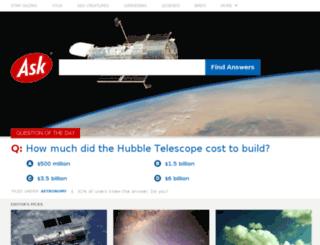 sp.ask.com screenshot