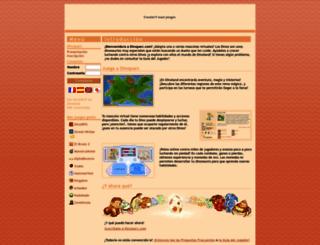 sp.dinoparc.com screenshot