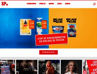 sp.nl screenshot