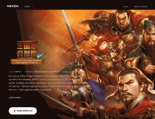 sp1.nexon.com screenshot