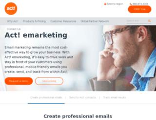 sp2.actemarketing.com screenshot